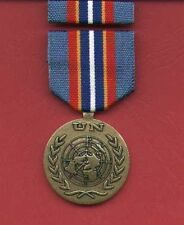 UN United Nations Award medal for Cambodia with ribbon bar UNTAC