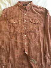 BNWT RRL DOUBLE RL RALPH LAUREN LEE WORK SHIRT SIZE SMALL RED CHECK