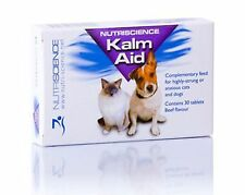 KalmAid Pet Remedy Dog Cat Anxiety 30 Tablets, Premium Service Fast Dispatch