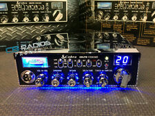 Cobra 29 LTD Chrome CB Radio - Blue Nitro Knobs-Peaked*-Echo