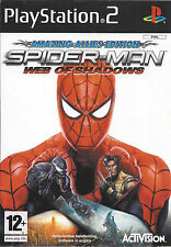 SPIDER-MAN WEB OF SHADOWS AMAZING ALLIES EDITION for Playstation 2 PS2 - PAL