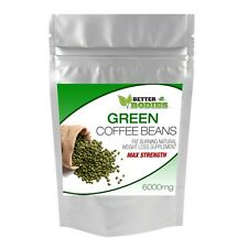 240 caffè verde Bean CAPSULE Max 6000mg weightloss Diet Slimming meglio Organismi