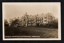 Frodsham - Crossley Sanatorium, Kingswood -  real photographic postcard