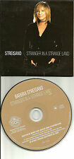 BARBRA STREISAND & Bee Gees BARRY GIBB Stranger in land LIMITED Target PROMO CD