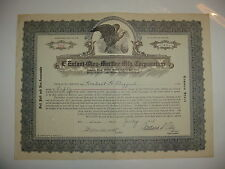 L'Enfant-Oley Martine Mfg. Corporation Stock Certificate Delaware