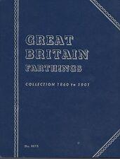 Great Britain Farthings 1860-1901 Whitman Folder