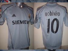 Real Madrid 10 ROBINHO Adidas Adult XL Brazil Shirt Jersey Football Soccer Top