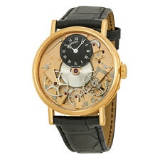 Breguet Tradition Automatic Skeleton Dial 18 kt Rose Gold Mens Watch 7027BRR99V6