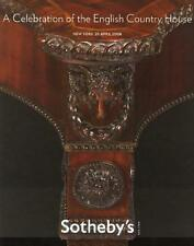 Sotheby's ||| English Country House Antique Sale Post Auction Catalog 2008