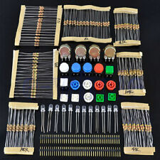 Popular Electronic Parts Pack KIT for ARDUINO component Resistors Switch Button