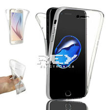 Funda Doble Silicona para IPHONE 7 PLUS Protector Transparente TPU i406