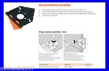 Blum Drilling Template for Blum Inserta/Clip Hinges