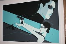 The Matrix Craig Drake movie poster print Keanu Reeves Laurence Fishburne