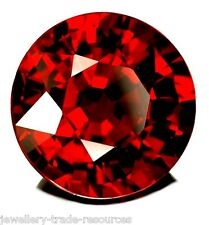 8mm ROUND NATURAL RED INDIAN GARNET GEM GEMSTONE