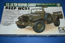 AFV Club 35S15 - US 3/4 Ton Weapons Carrier BEEP WC 51 scala 1/35