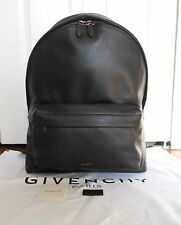 New Authentic  Givenchy $2180 Leather Backpack w/Studded Trim, Black
