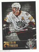 2014-15 Chicago Wolves Colin Fraser (Nürnberg Ice Tigers)