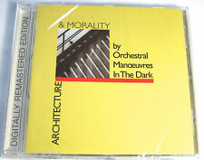 OMD - Architecture Morality CD + 7 Bonus Tracks NEW & SEALED REMASTERED