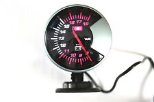 "GAUGE OIL PRESSURE METER CAR DIAL LED LIGHT WHITE LED  2.34"" INCHES 60mm Kg/cm²"