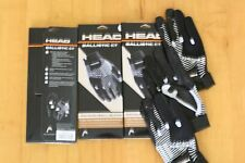 HEAD RACQUETBALL GLOVE BALLISTIC CT , 3 Gloves, Right Hand Size L LARGE