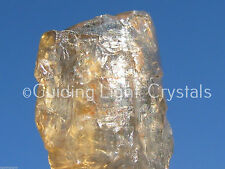 """ONE POWERFUL RARE CHAMPAGNE AURA PETALITE CRYSTAL! """"STONE OF INTENT!"""" SYNERGY 12"""