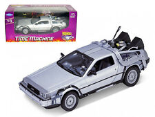 DeLorean From Movie Back To The Future 1 1/24 by Welly