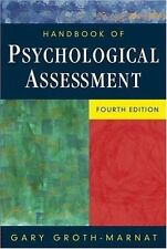 Handbook of Psychological Assessment Books
