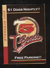 2007 Kansas City T-Bones Schedule--Community America Credit Union