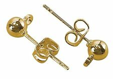 50 x  Gold Plated Earring stud Components J1236