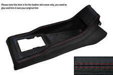 RED STITCHING CENTRE CONSOLE SKIN COVER FITS VW POLO MK2 2 II 86C 81-94