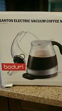 Bodum Santos 3000-10 12 Cups Coffee Maker with timer - Transparent