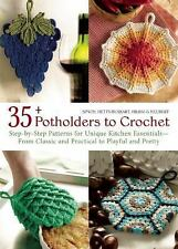 35+ Potholders to Crochet: Step-by-Step Patterns for Unique Kitchen Essentials-F