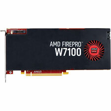 AMD FirePro W7100 8GB 256-Bit GDDR5 PCI-E 102-C76704 Video Card w/ Accessories