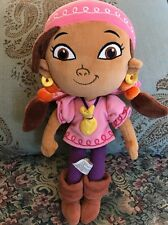 """Disney Parks Exclusive Izzy Plush Jake & The Neverland Pirates Doll 12"""" Girl #F4"""
