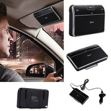 Bluetooth 4.0 Hands-free Multipoint Speakerphone Speaker Car Kit Sun Visor OE