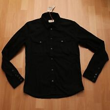 NEU Nudie Jeans,  Jeans Hemd Denim Shirt JONIS DRY PITCH BLACK  M