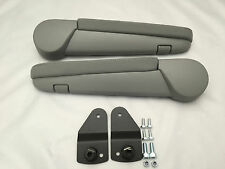 Volkswagen VW T5 T6 Transporter Caravelle Armrests Grey Cloth 2010-2016