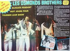 LES OSMONDS / OSMOND BROTHERS: Coupure de presse 2  pages 1973 / FRENCH CLIPPING