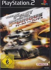 The Fast and the Furious   (PS2) In Box, mit Anleitung