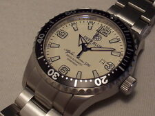 DEEP BLUE ALPHA MARINE 500 SWISS AUTOMATIC, ETA 2824-2, FULL LUME DIAL, 45 MM