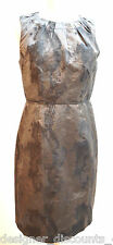 NWT $89 Ann Taylor LOFT gray fitted career casual evening dinner dress SIZE 4 6