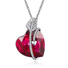 Gift For Women Mothers Day Girls Birthday Present Necklace Pendant Swarovski NEW