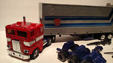 Transformers G1 Lot  Vintage Optimus Prime Autobot Leader 100% Complete 1980s