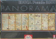 Educa WORLD MAP 1375 3000 pc Jigsaw Puzzle