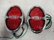 1933 1934 1935 CHEVROLET  LIGHTS TAIL LIGHTS ASSEMBLIES BLACK incandescent