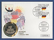 Numisbrief Deutsche Einheit Ein Volk Marshall Islands Stemp 1990 #10524 NBA8/38