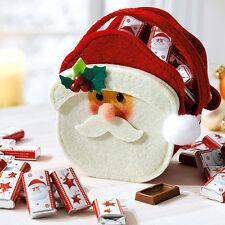 """Filztäschen """"Santa"""" Nikolaussocke Weihnachtsstiefel Weihnachtsbeutel Tasche"""
