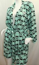 VICTORIA'S SECRET Pink Aztec Very Sexy Robe Color Green NWT Sz XSmall/Small NWT