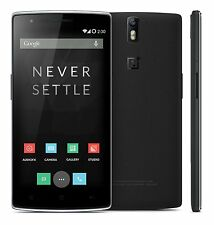 New OnePlus 1 One A0001 Black Factory Unlocked GSM Android 5.5inch 4G LTE - 64GB