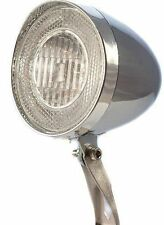 "Sport Direct™ Bicycle Bike ""Retro"" Front Dynamo Reflector Halogen Light"
